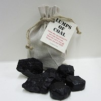 Lump of Coap Soap, Handmade Glycerin Lumps of Coal Soap- Gag Gift