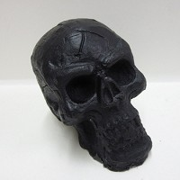 Skull Soap Handmade Glycerin Soap Bar - Black Licorice Scented
