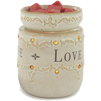 Live Laugh Love Illumination Wax Melter - CandleWarmers