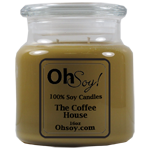 16oz. Jar Soy Candle - Coffee House