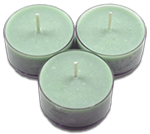 12pk Soy Tea Lights  -  Coconut Lime