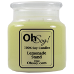 16oz. Jar Soy Candle - Lemonade Stand