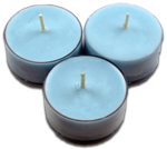 12pk Soy Tea Lights  -  Beach House