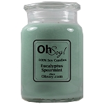 26oz. Jar Soy Candle - Eucalyptus Spearmint