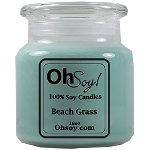 16oz. Jar Soy Candle - Beach Grass