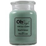26oz. Jar Soy Candle - Beach Grass