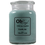 26oz. Jar Soy Candle - Fresh Air / Odor Eliminator