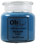 16oz. Jar Soy Candle - Mermaid Tales